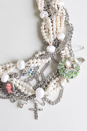 Punk Pearl Marly Necklace