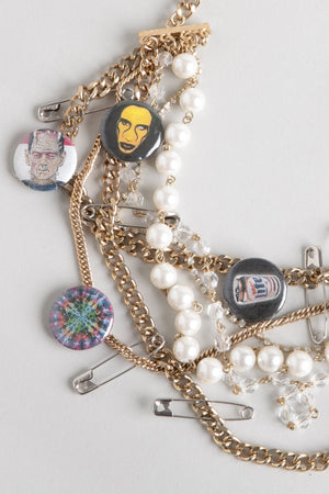 Punk Pearl Manson Necklace