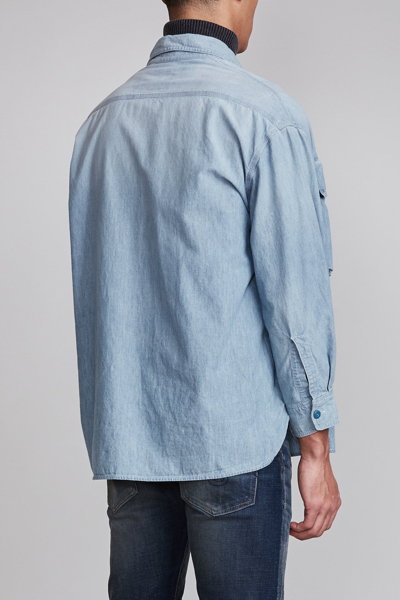 D'arcy Work Shirt - Nell Blue