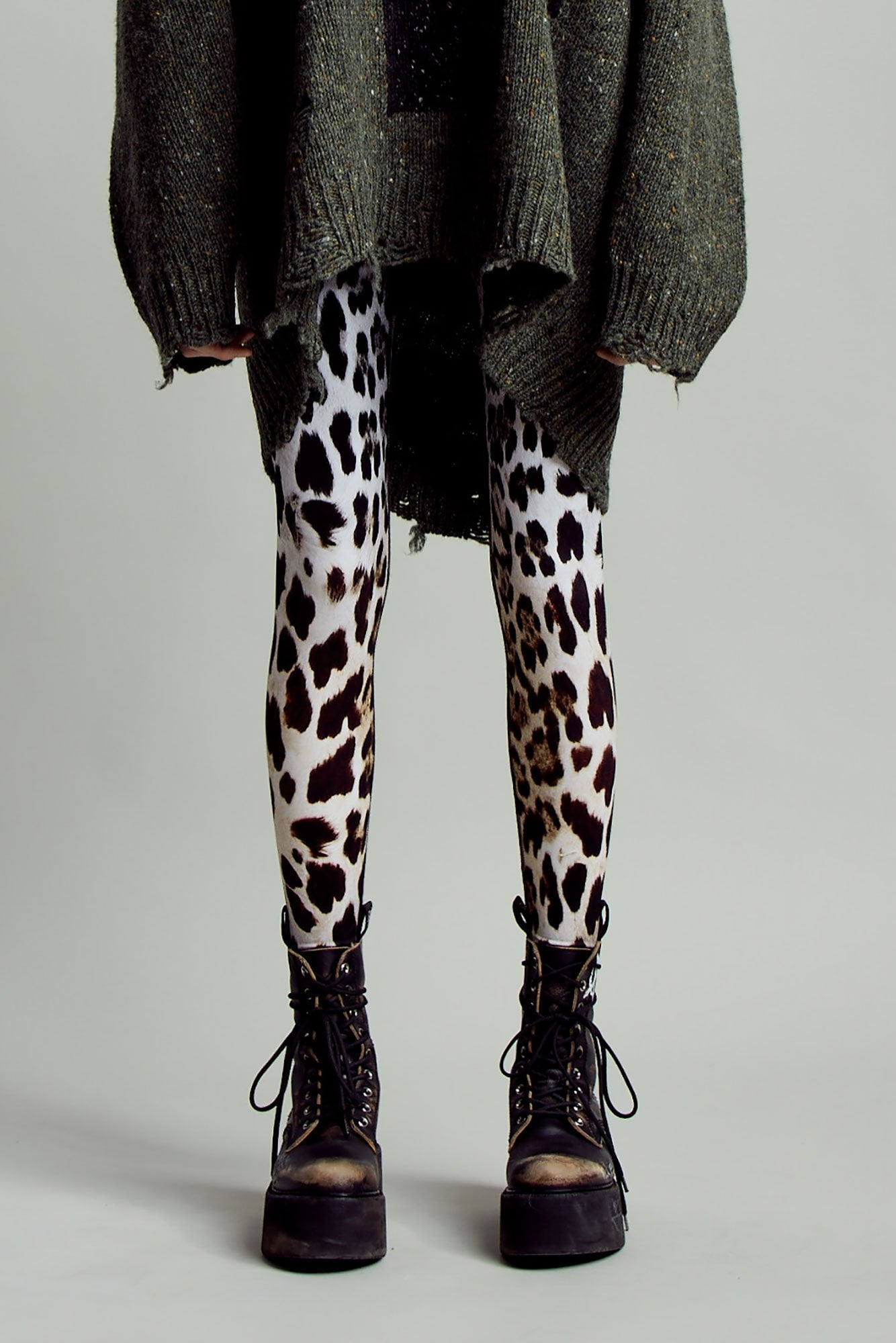 Faded Leopard Legging