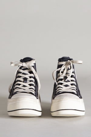 Men's High Top Sneaker - Black
