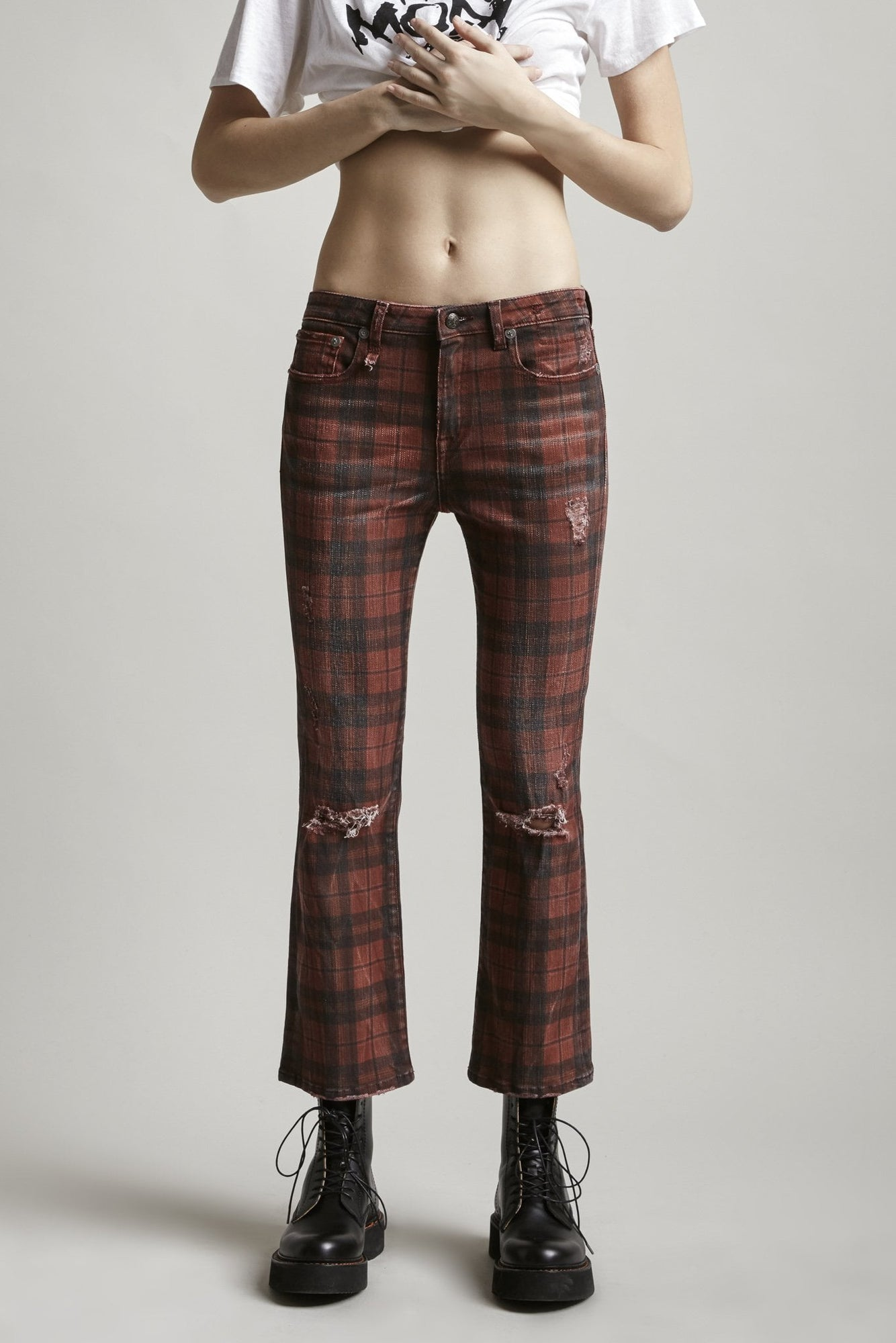 Kick Fit - Red Plaid