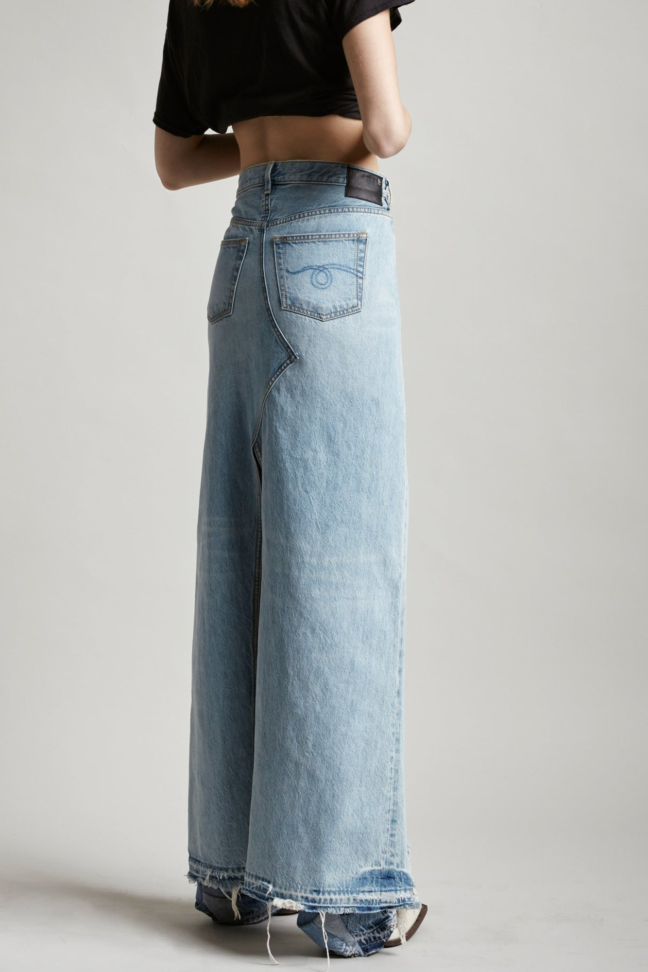 Harrow Denim Skirt (Long Skirt) - Tilly