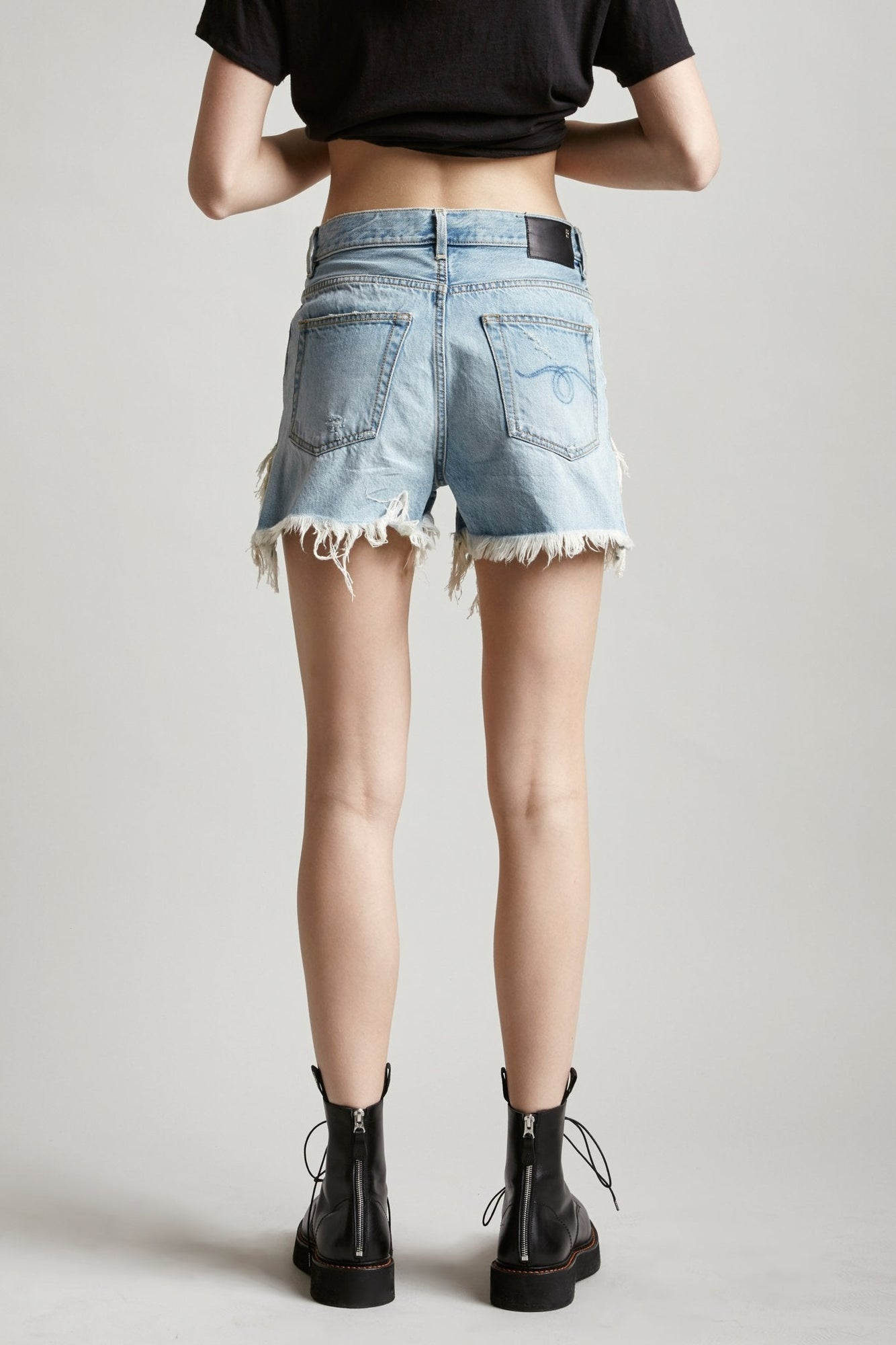 Shredded Slouch Short - Tilly