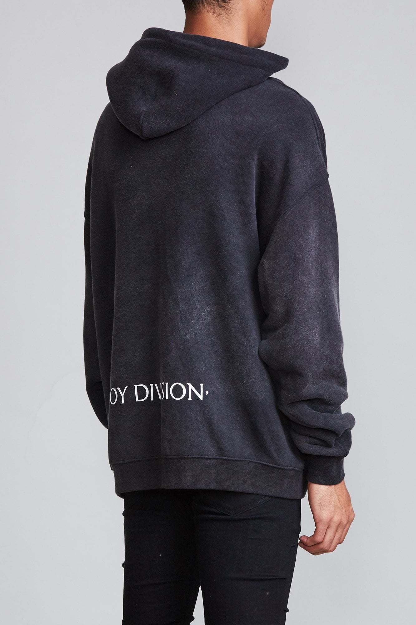 LWTUA Album Oversized Hoodie - Acid Black