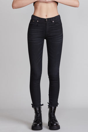 High Rise Skinny - Stratford Black