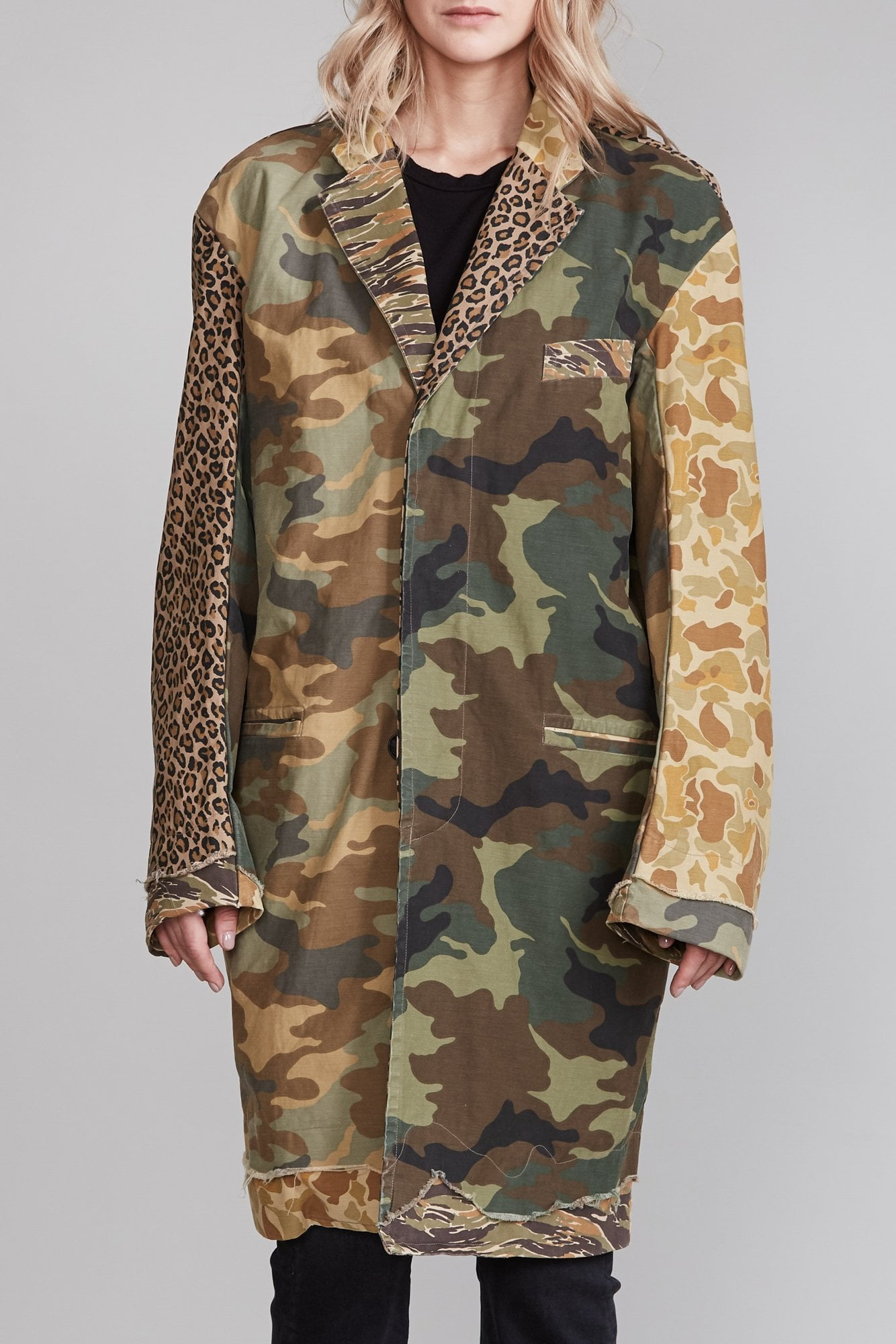 Shredded Coat - Multi Camo