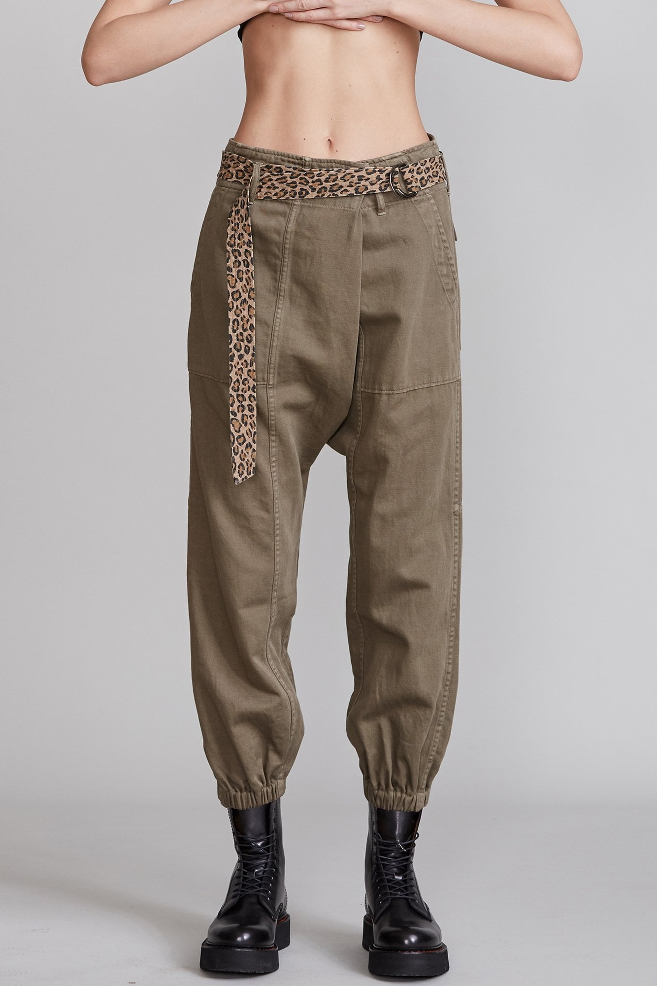 Crossover Utility Drop Pant - Olive