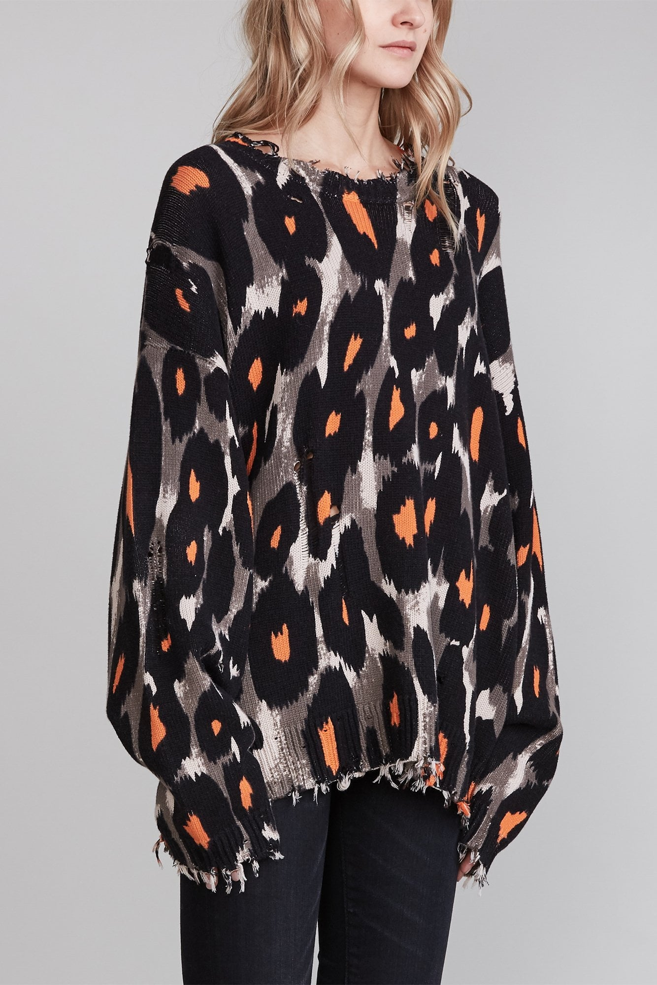 Leopard Oversized Sweater