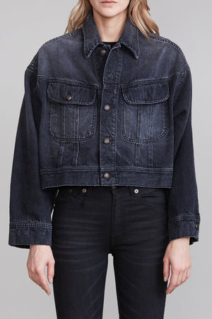 Mia Trucker Jacket - Jake Black