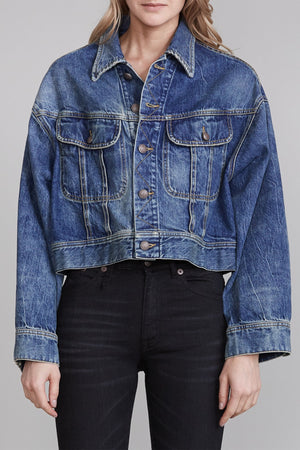 Mia Trucker Jacket - Kelly