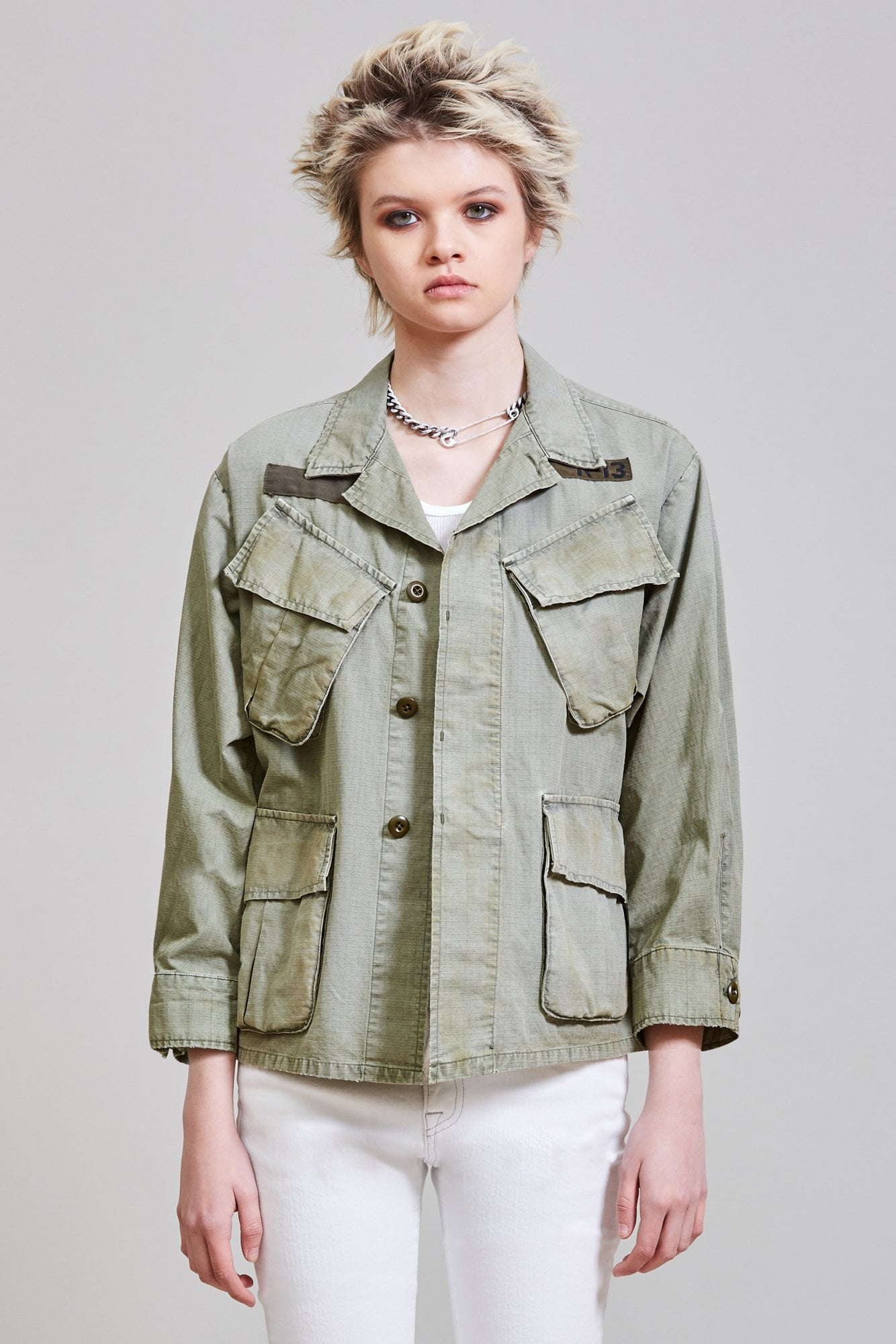 SHRUNKEN ARMY JACKET