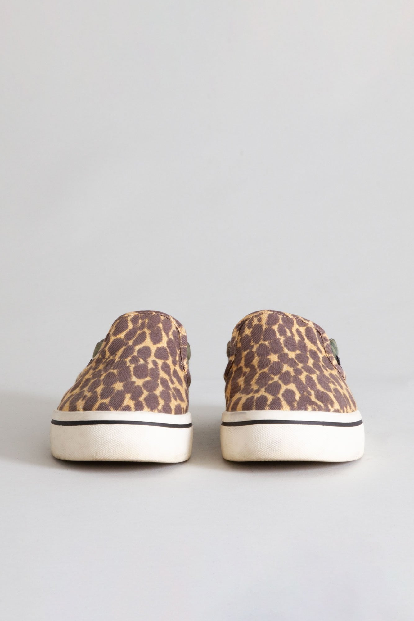 Slip On Sneaker - Camo and Cheetah