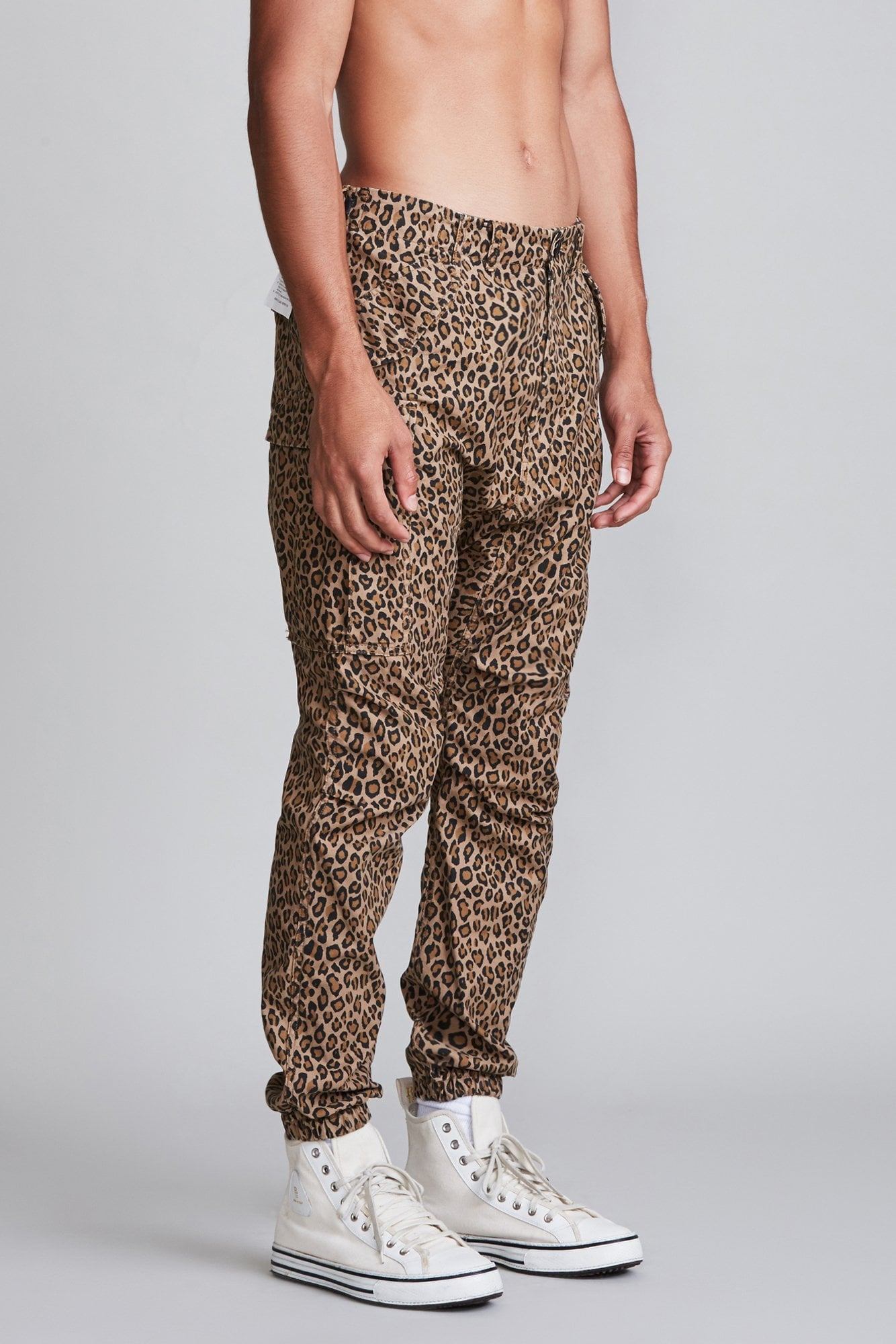 Military Cargo Pant - Leopard