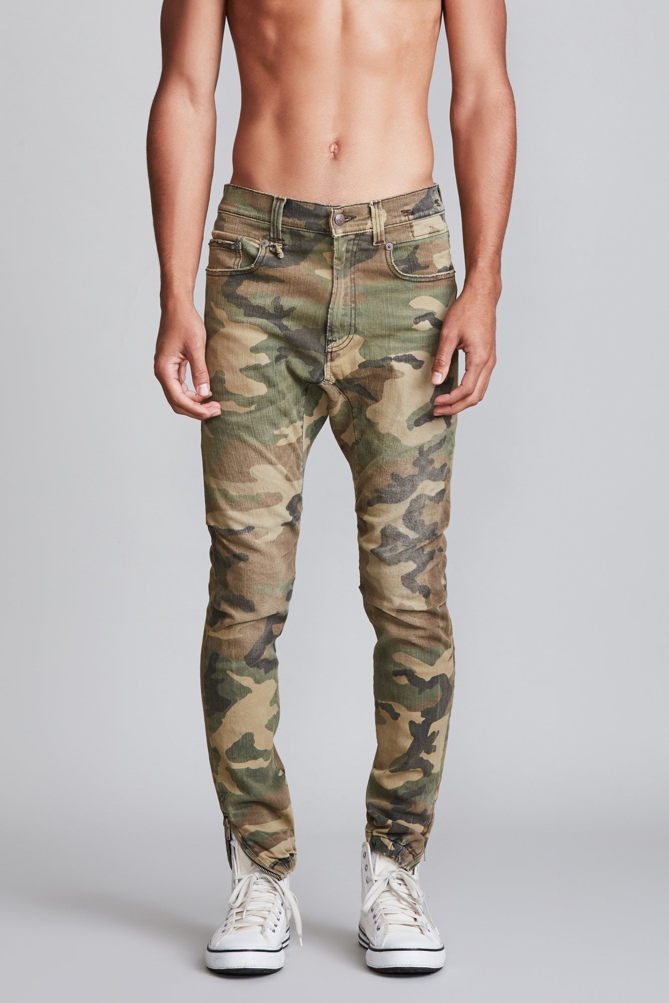Cooper Tapered Drop - Beige Camo