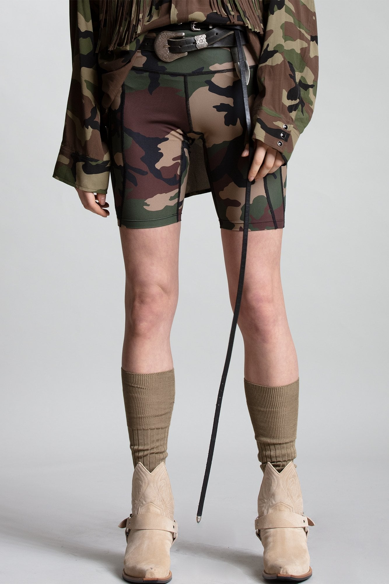 Engineered Biker Short - Camo