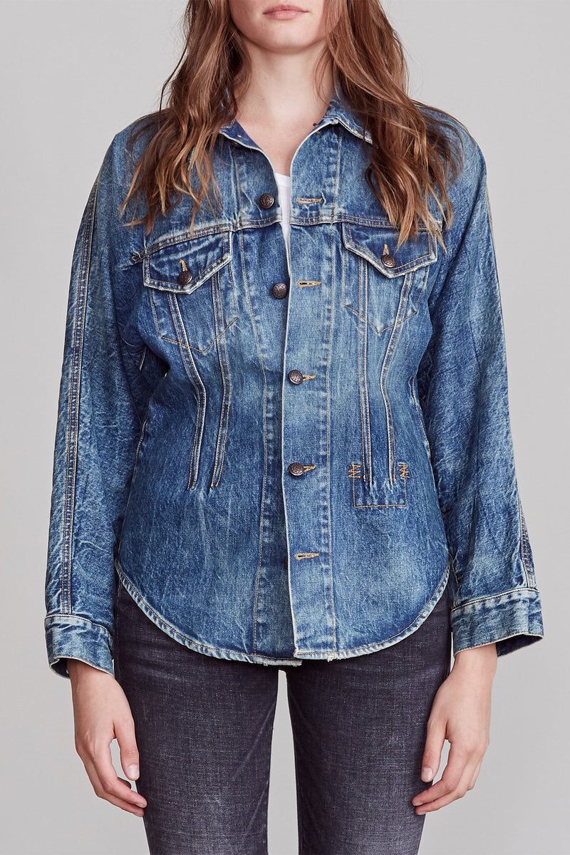 Shirley Trucker Shirt - Kelly