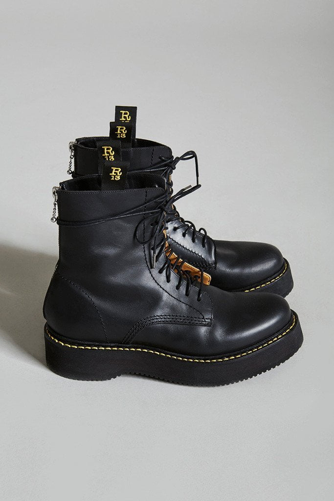 Men's R13 stack boot