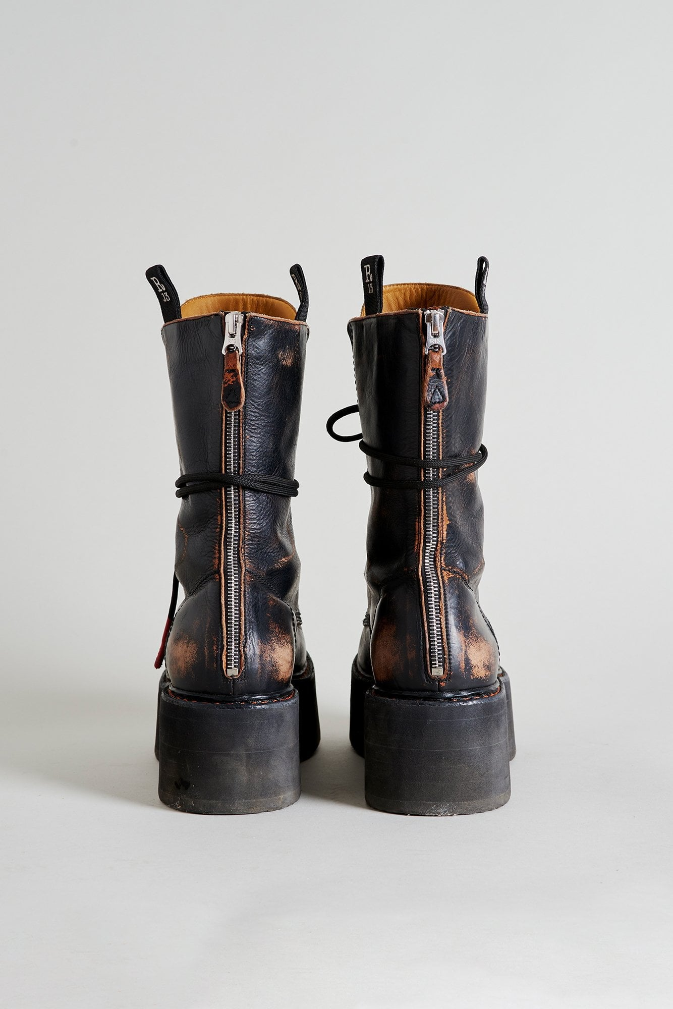 Double Stack Xtra Tall Boots - Black