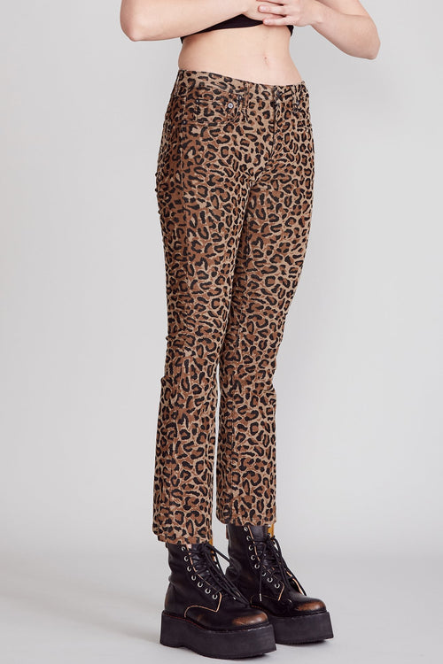 Kick Fit - Tan Leopard