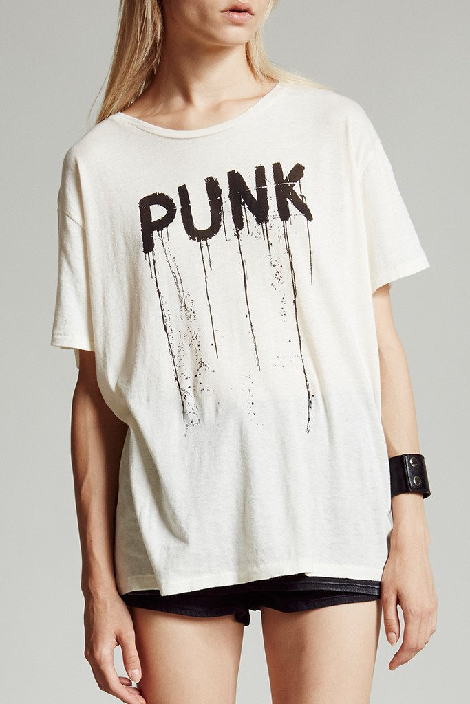 Punk Boy T White