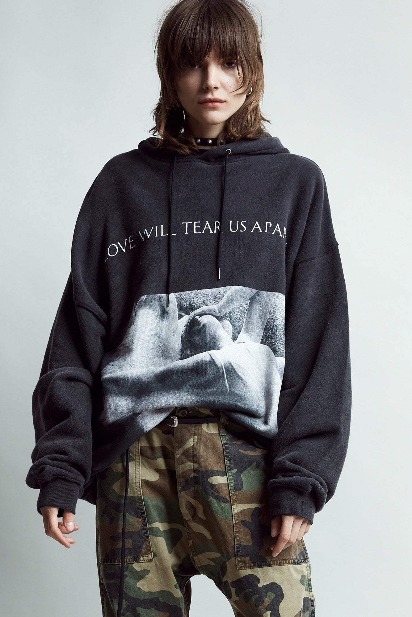 Love Will Tear Us Apart Album Oversized Hoodie