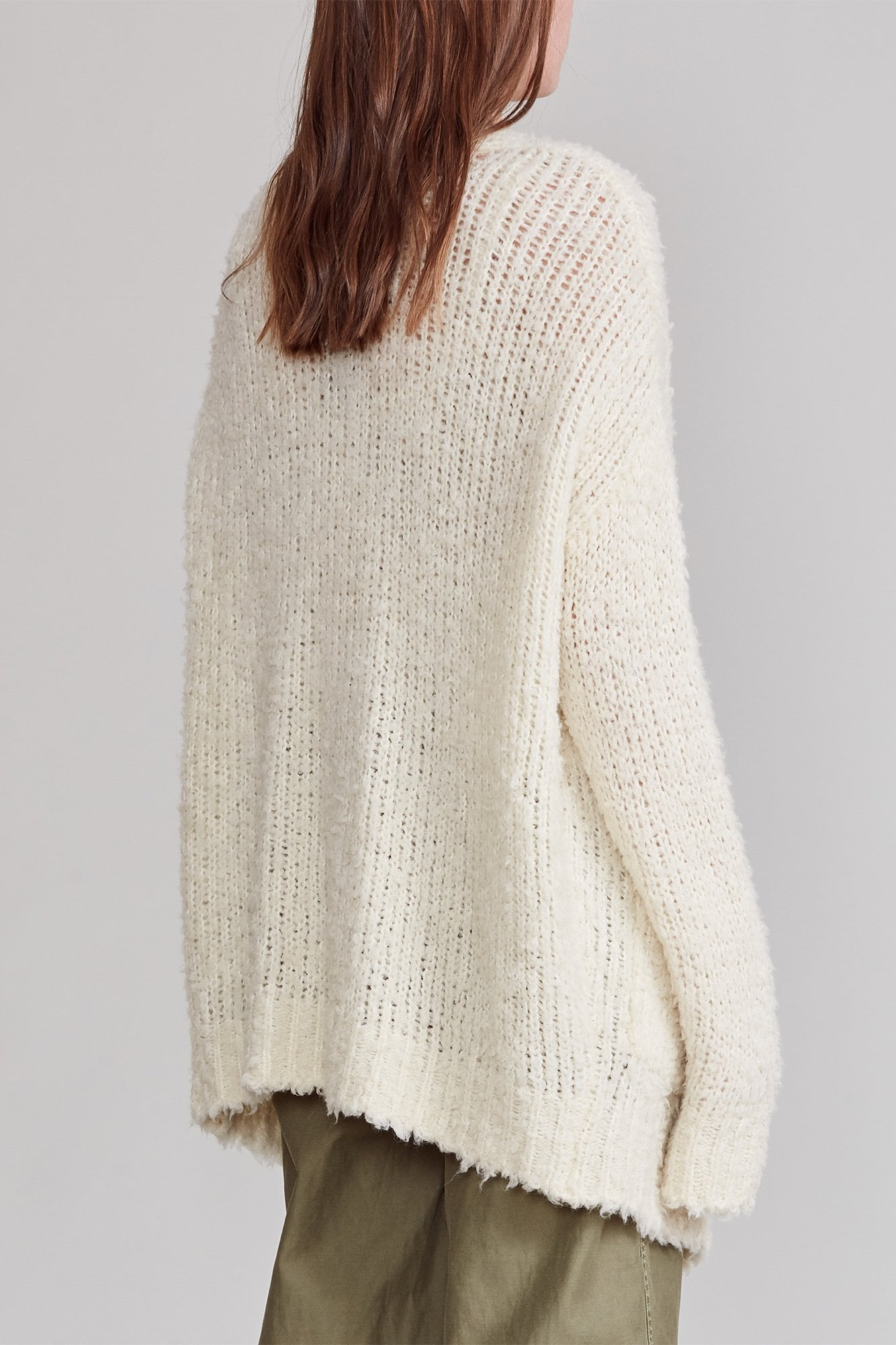 Teddy Bear Cardigan - Cream