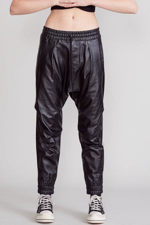 Leather Harem Pant