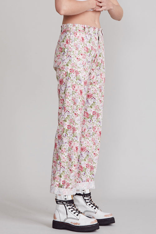 WORKWEAR DROP - PINK FLORAL