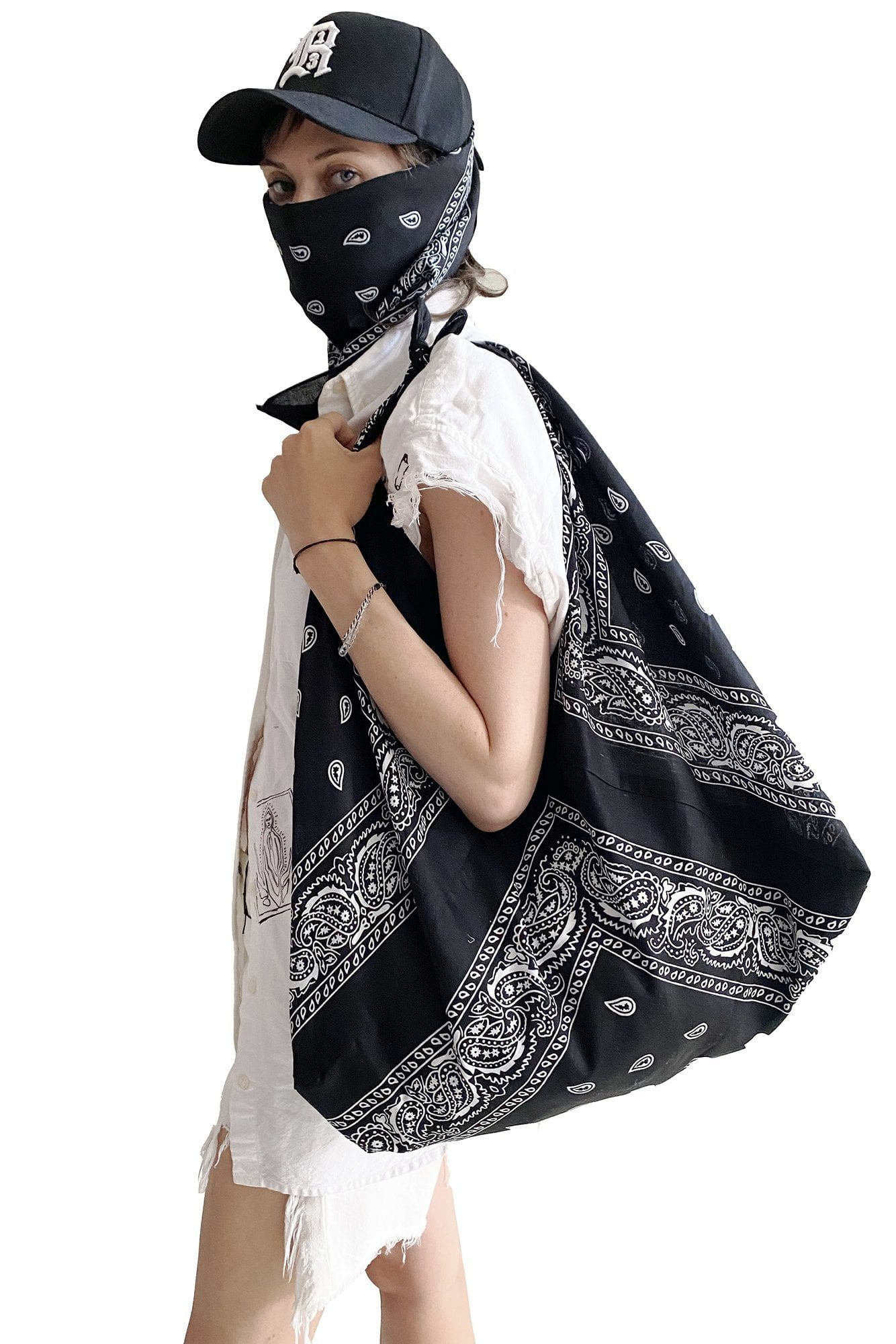 Bandana Bag - Black