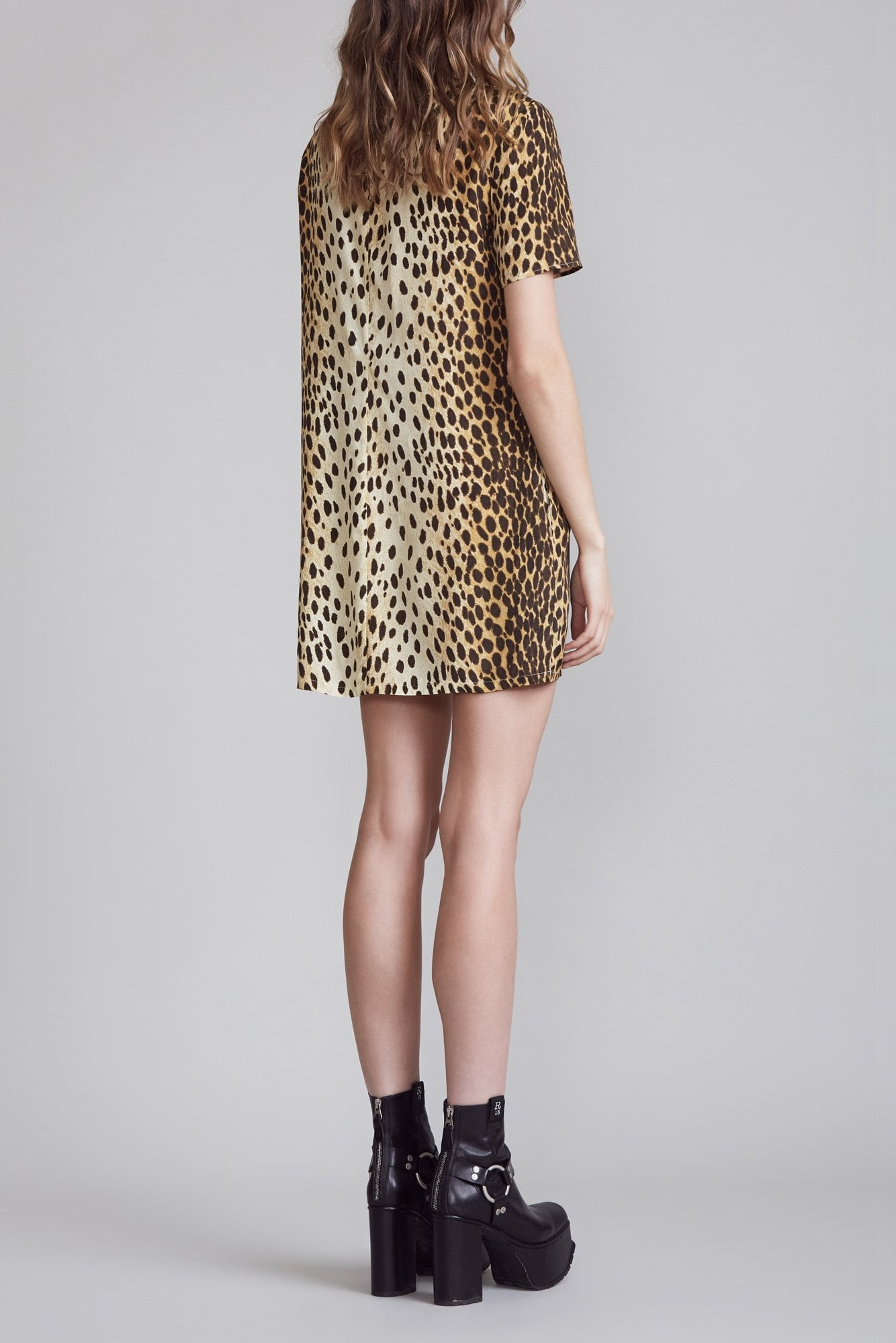 Shift Dress - Cheetah