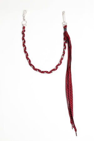 Rope Pocket Chain - Red Checker