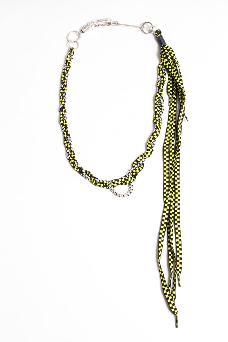 Rope Pocket Chain - Yellow Checker