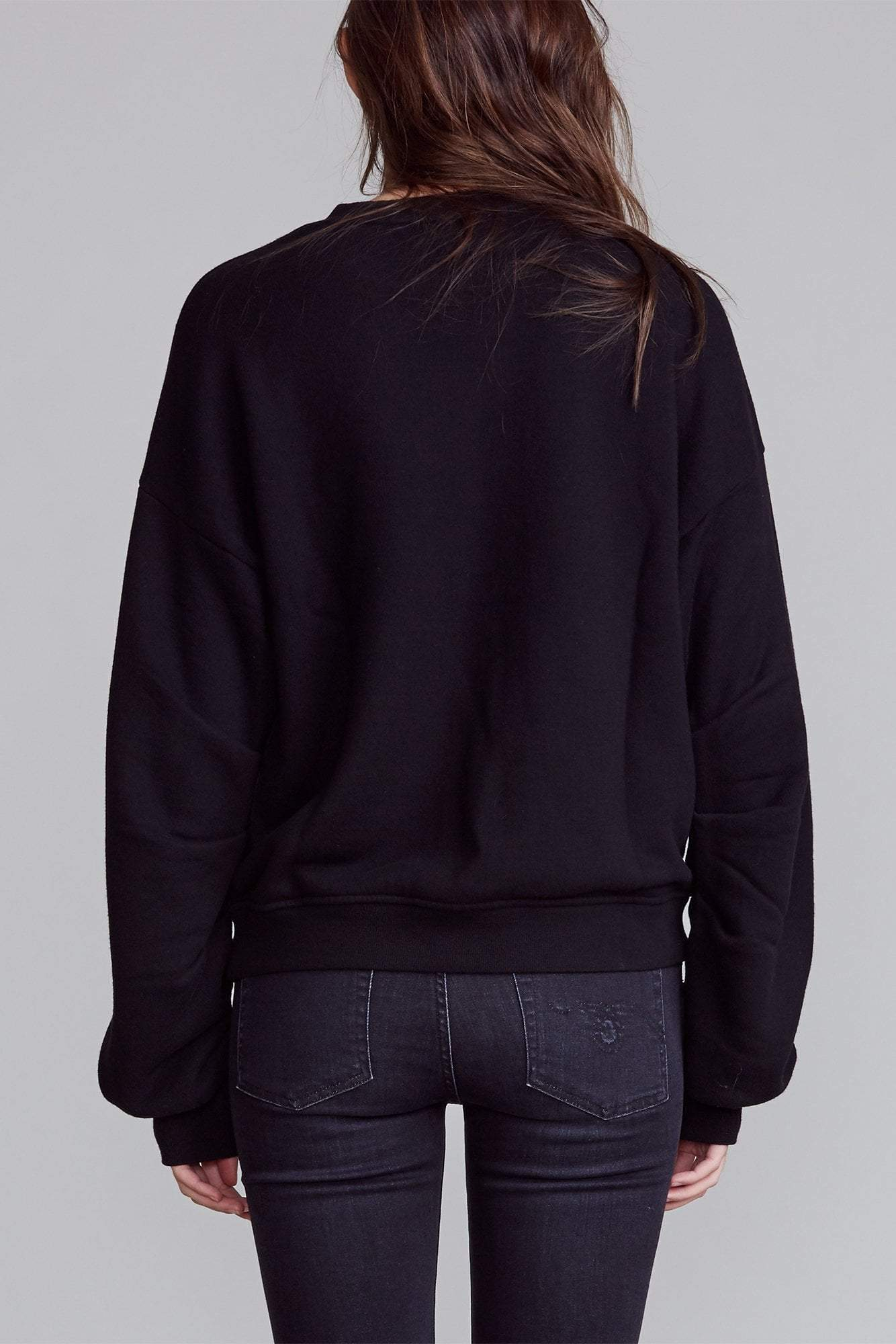 Sell Your Soul Pleated Sleeve Sweatshirt