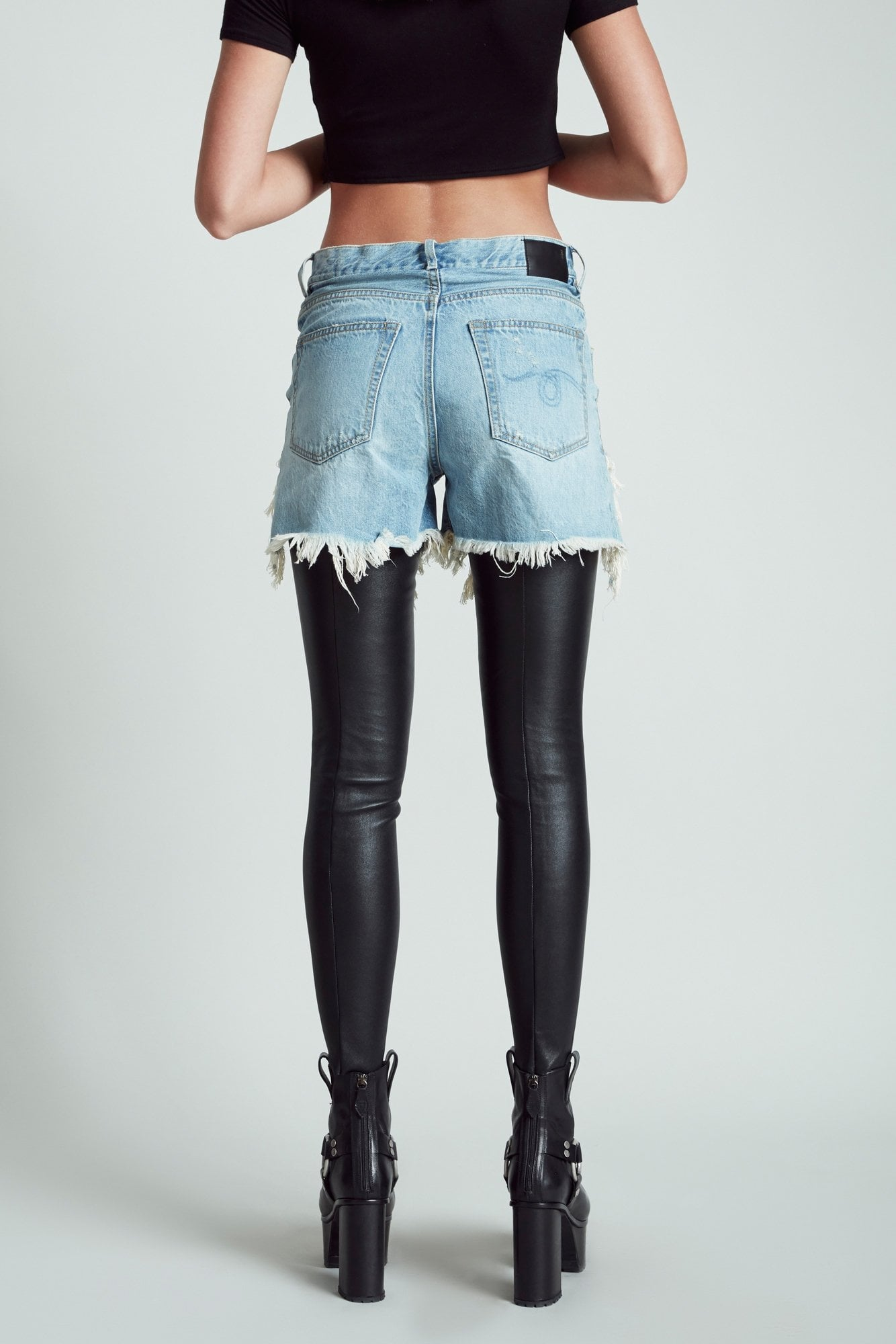Shredded Slouch Chaps- Tilly