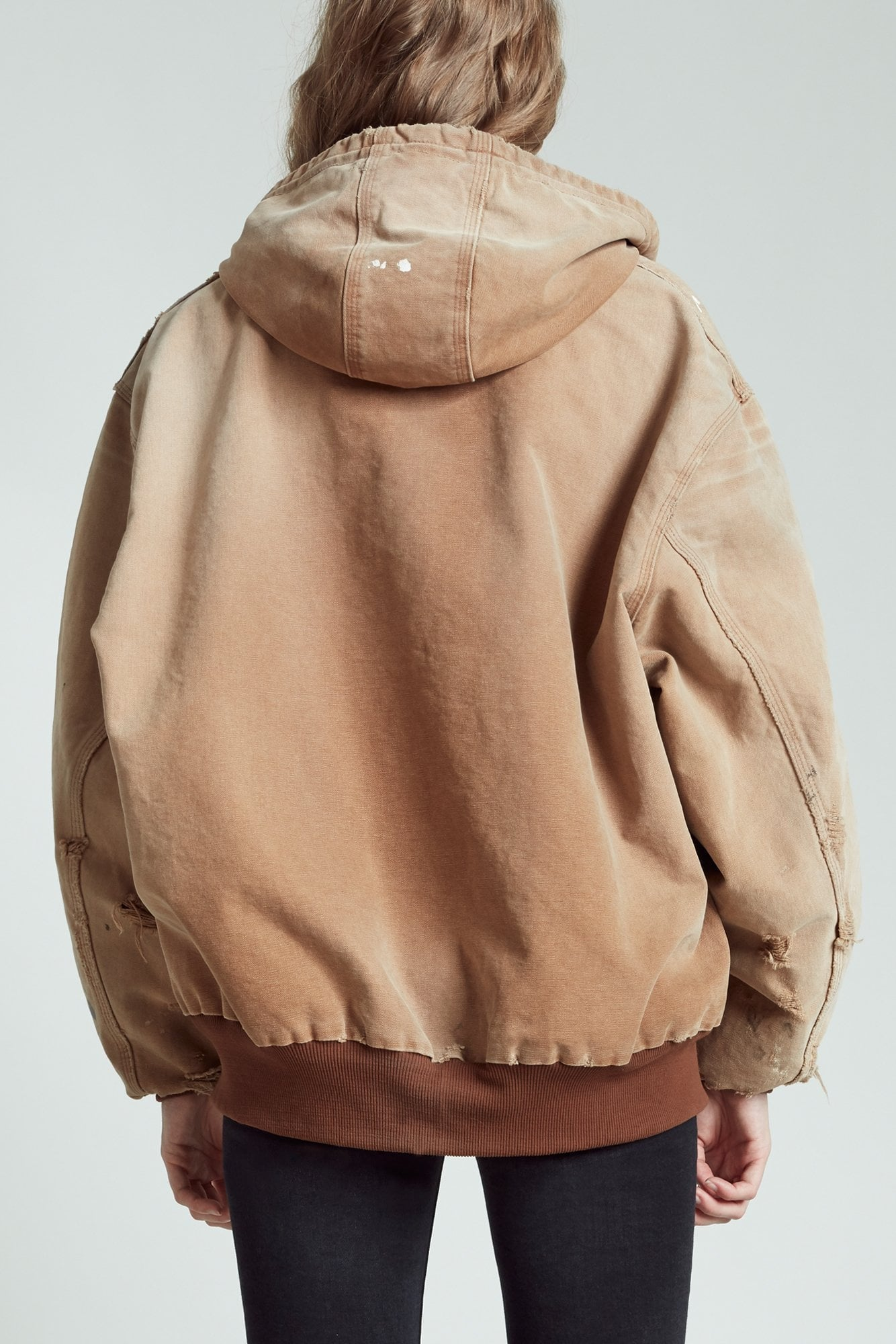 Vintage Duck Thermal Lined Jacket - Brown
