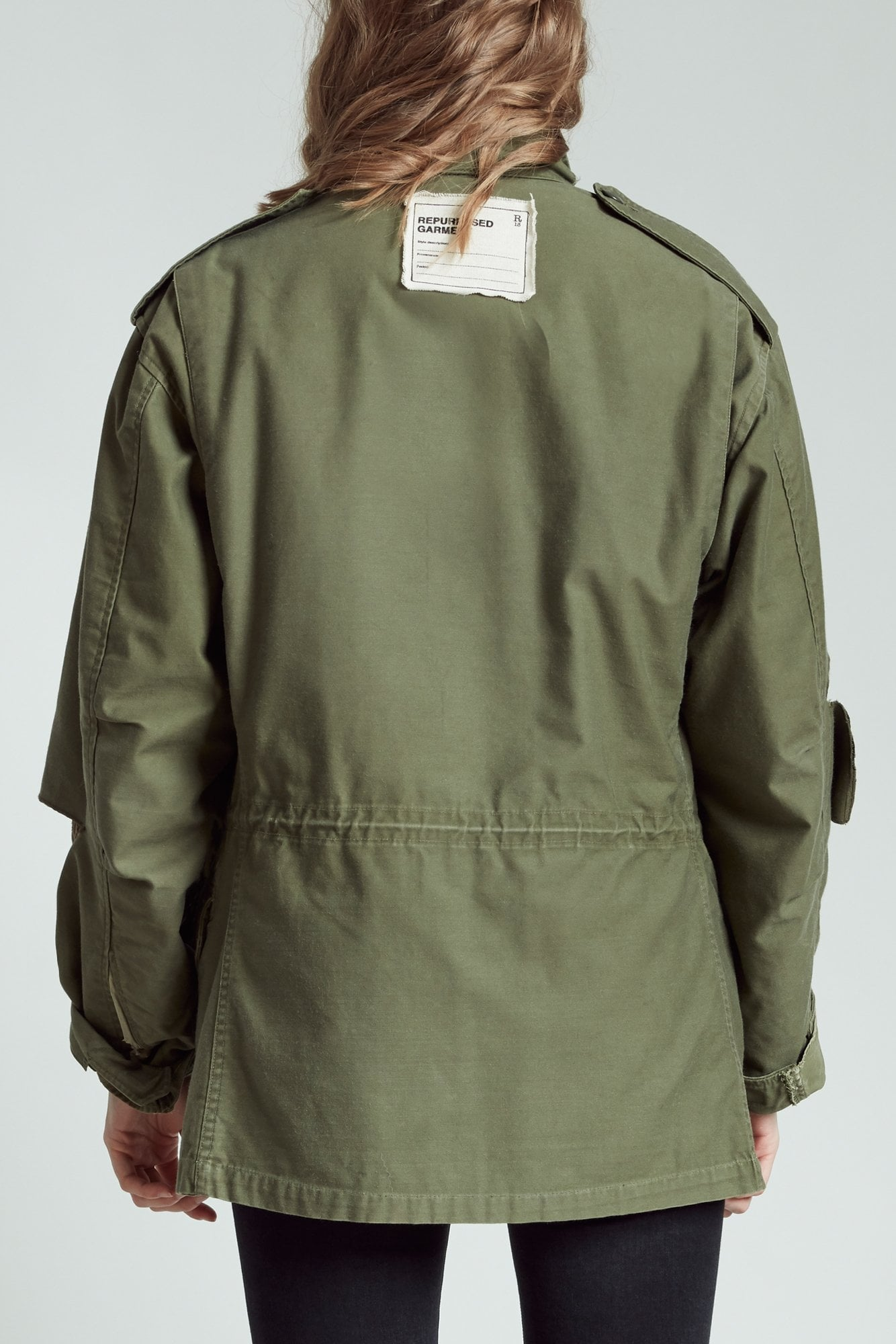 M65 Field Jacket with Liner - Olive with Leopard