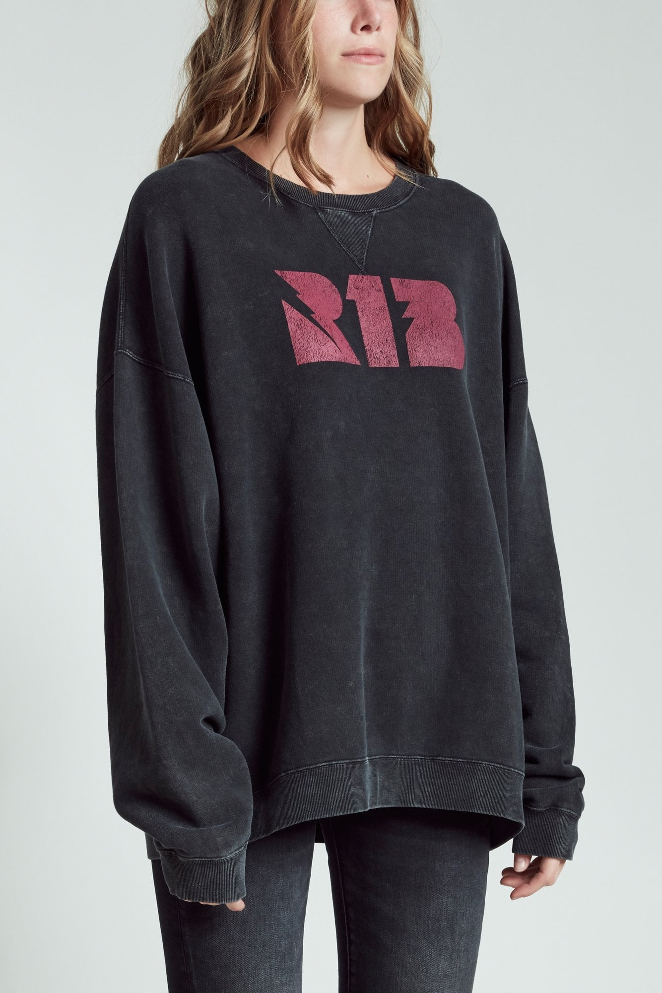 Thunderbolt R13 Sweatshirt - Acid Black