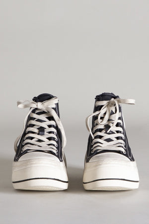 High Top Sneaker - Black