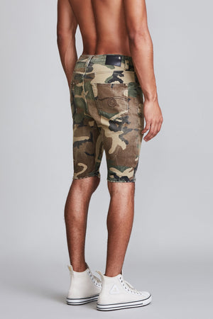 Cooper Drop Short - Beige Camo