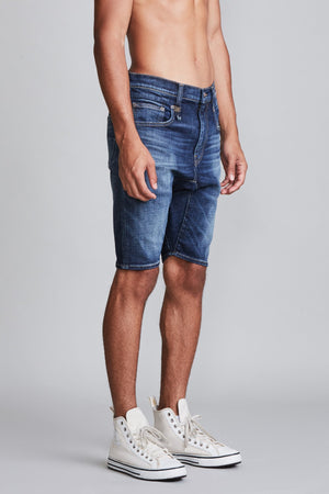 Cooper Drop Short - Liam Indigo