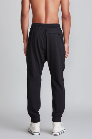 Harem Sweatpant - Acid Black