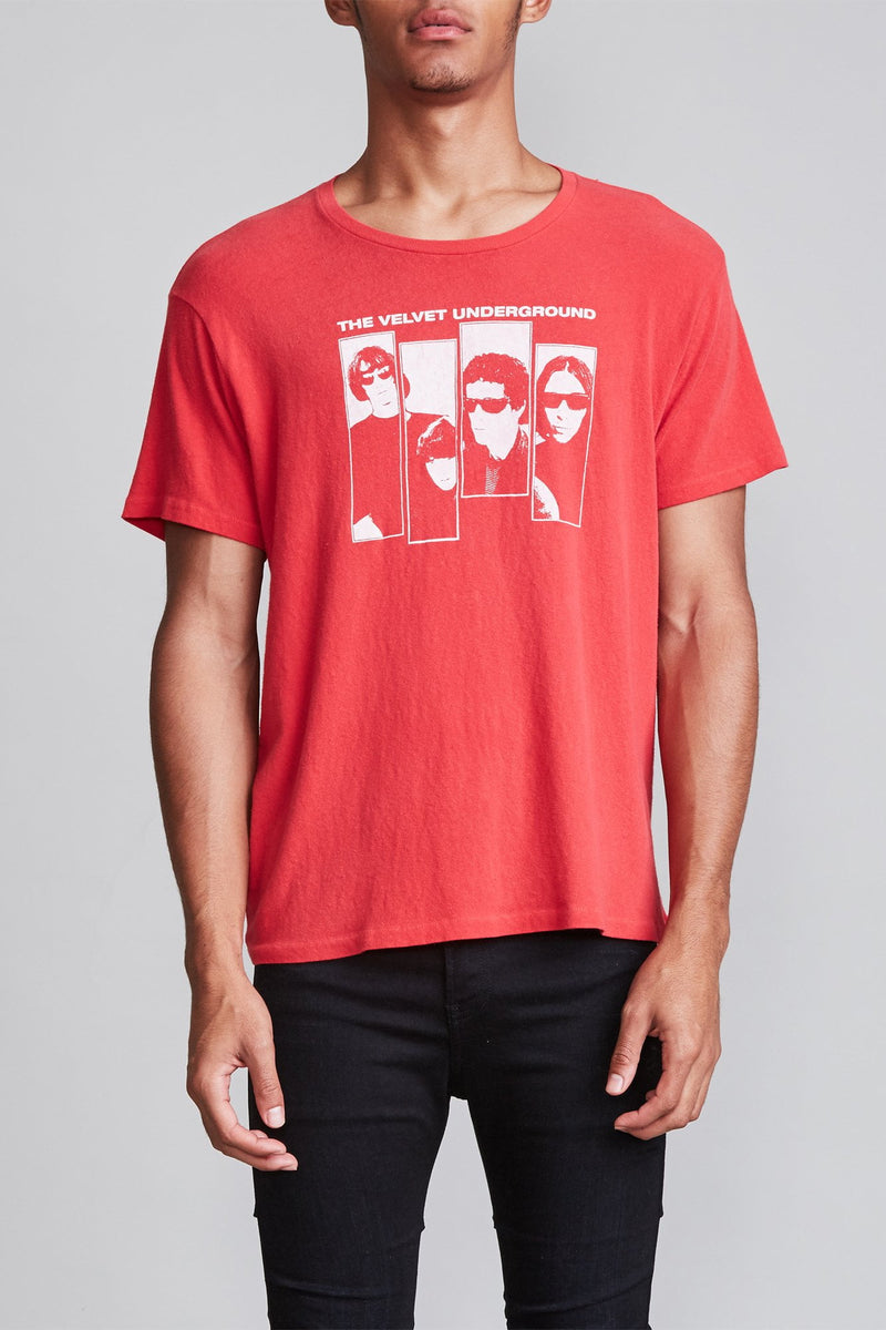 Velvet Underground Boy T - Red