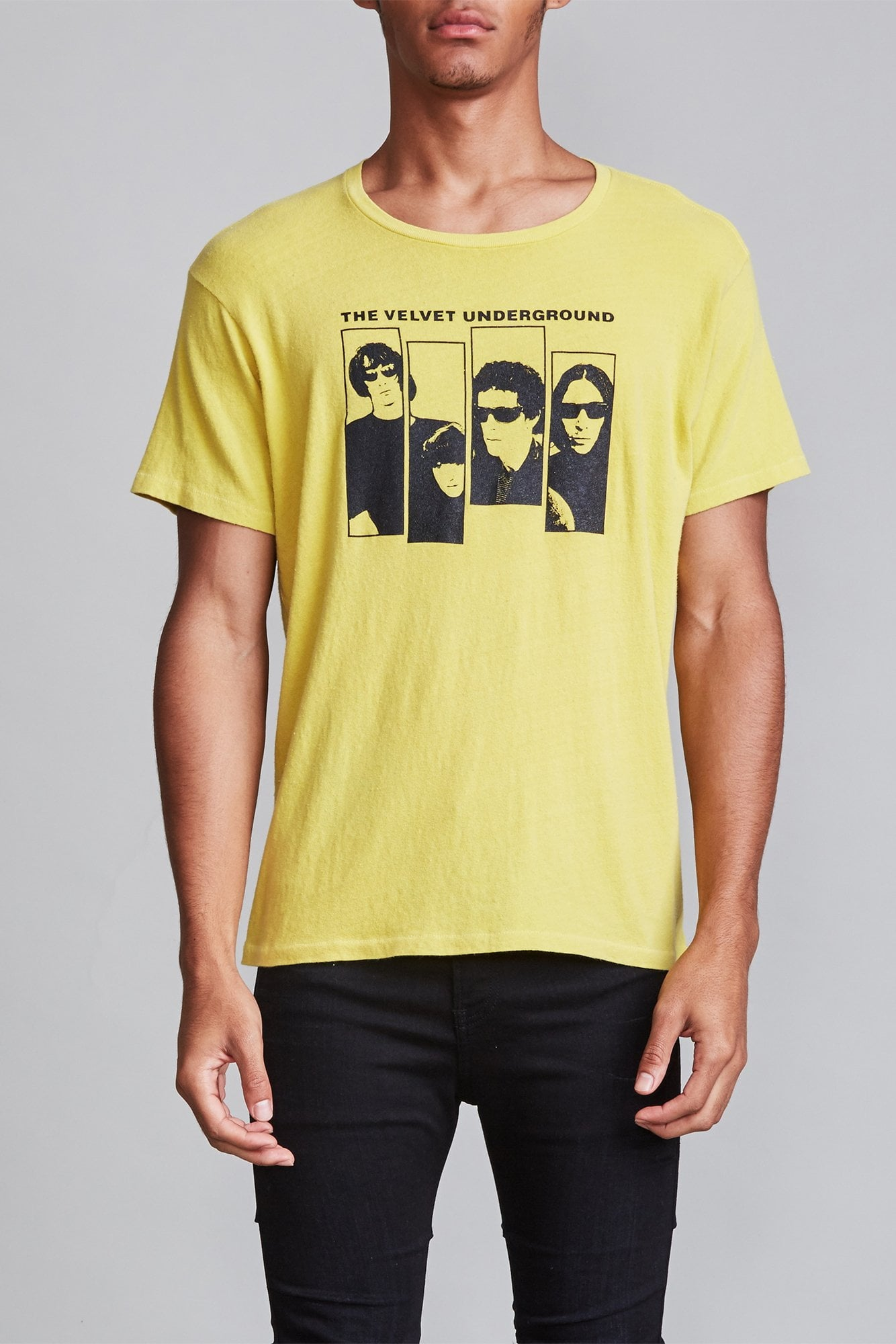 Velvet Underground Boy T - Yellow