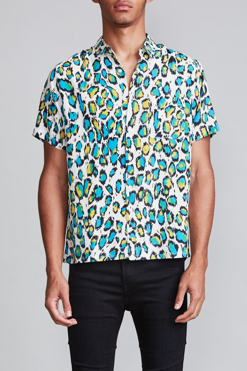 Tony Shirt - Multicolor Leopard