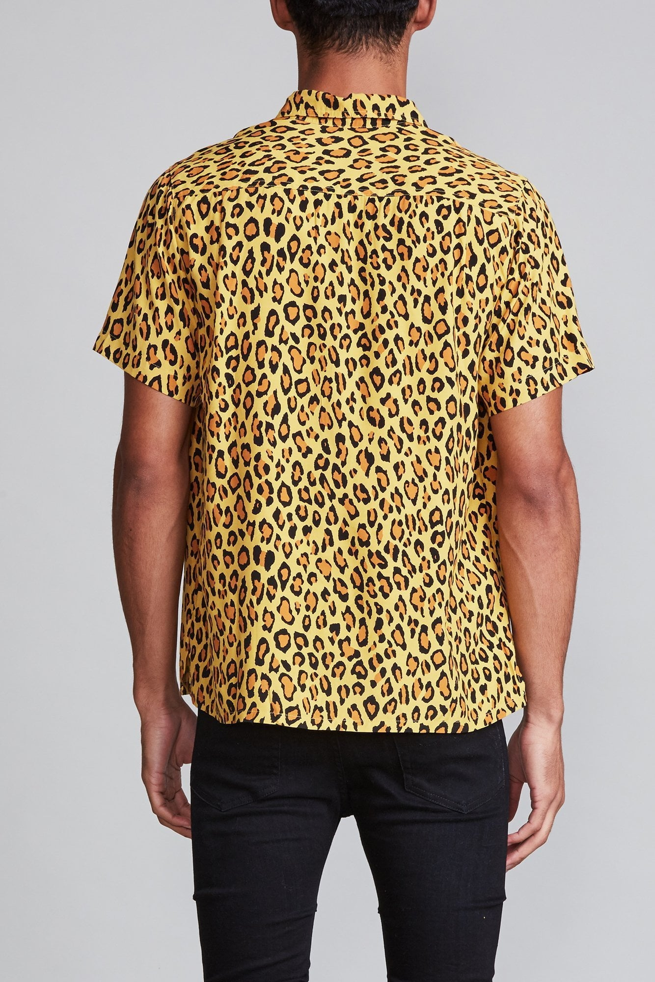 Tony Shirt - Yellow Leopard