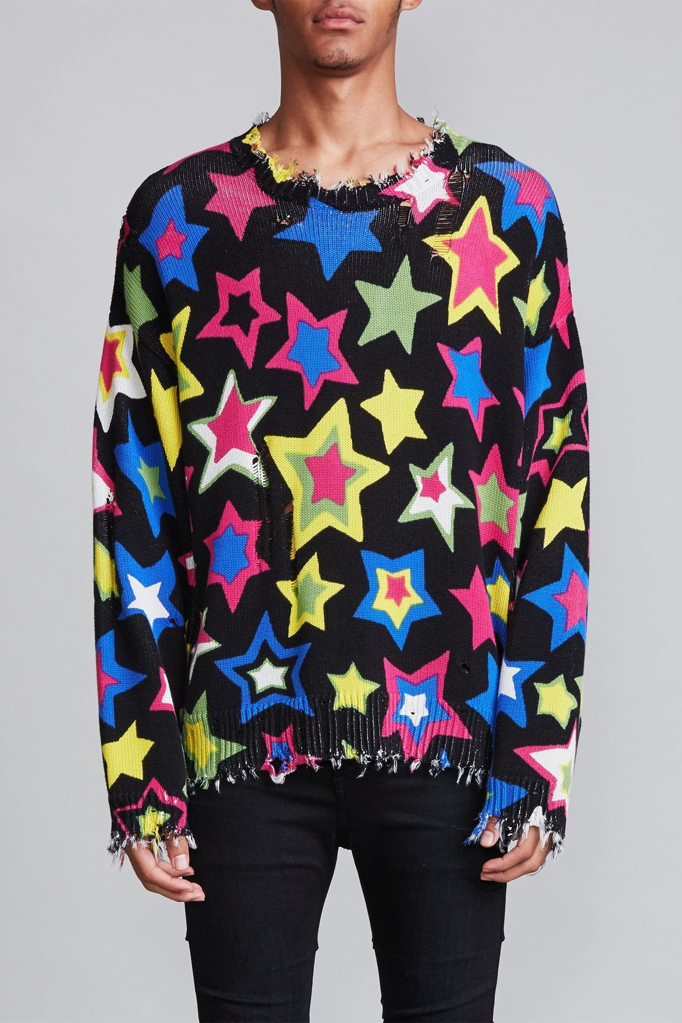 Stars Oversized Sweater