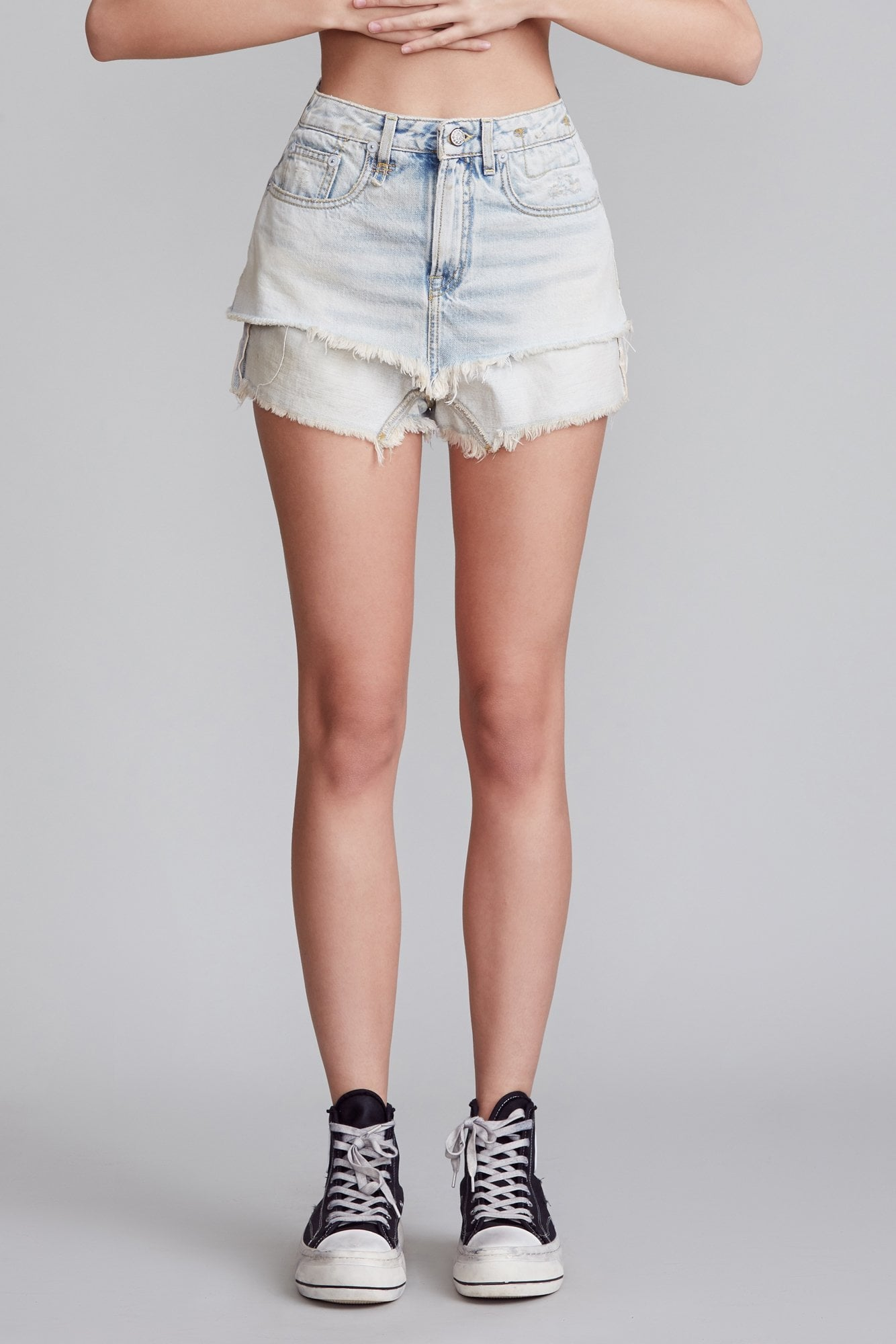 Double Layer Short - Leva Blue
