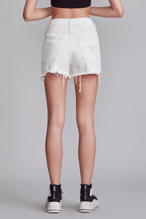 Slouch Short - Nollie White