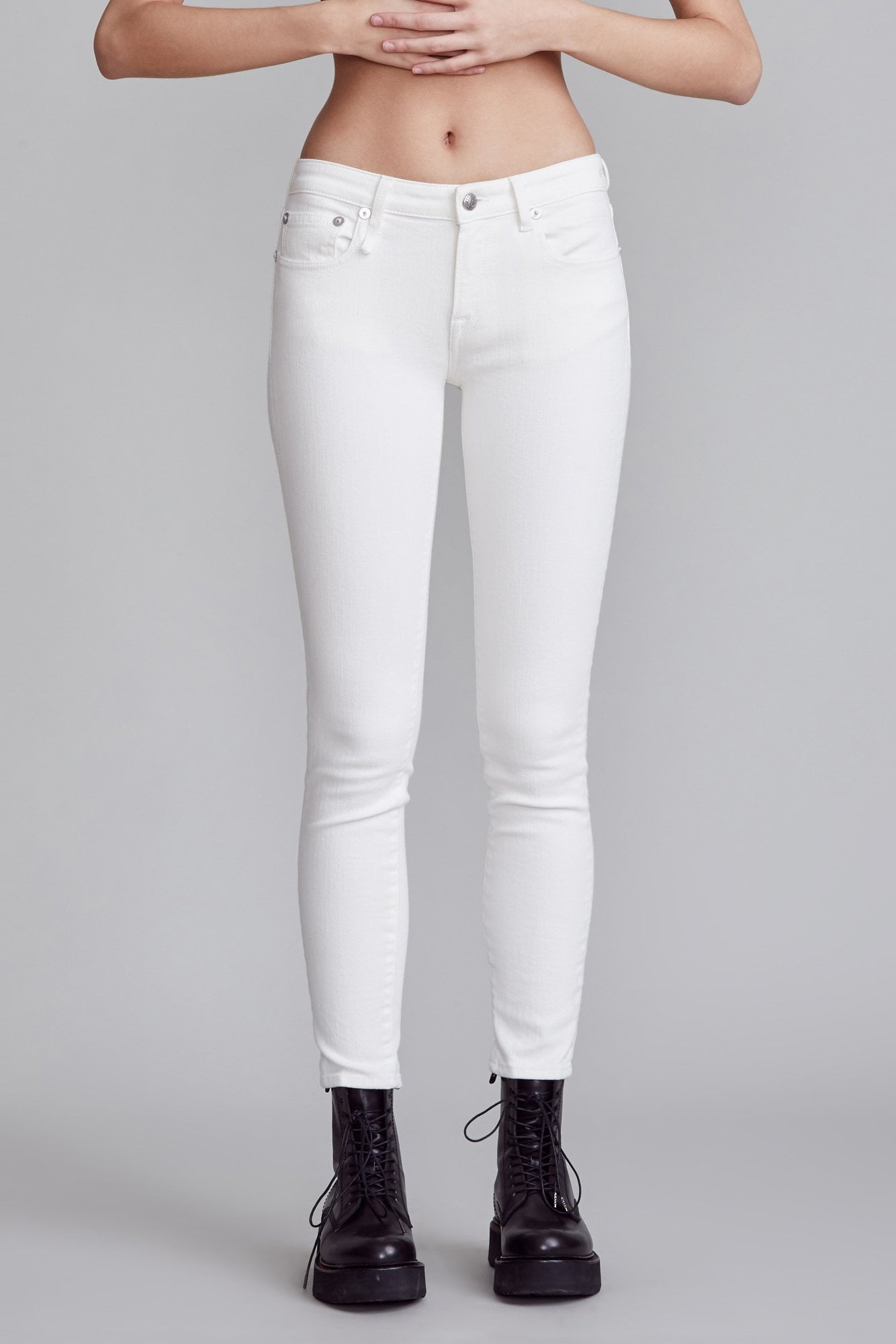Kate Skinny - Rinsed White